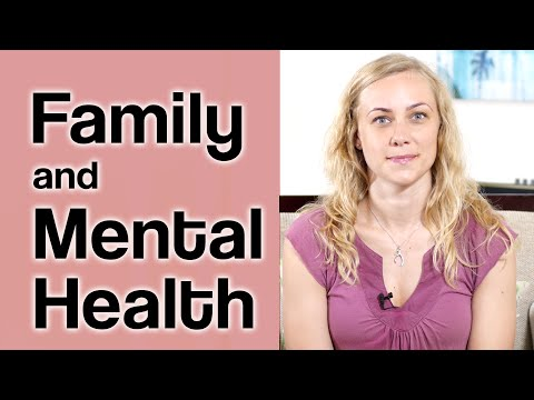 How to deal with family & their mental health