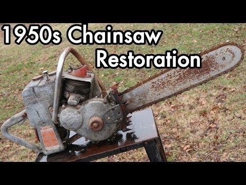 1950s David Bradley Chainsaw Restoration 01: Teardown Triage