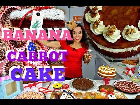 5K SUBSCRIBERS   CARROT AND BANANA CAKE   TRADITIONAL BRAZILIAN TREATS  BY VERUSCA WALKER