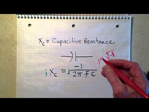 Calculating Capacitive Reactance