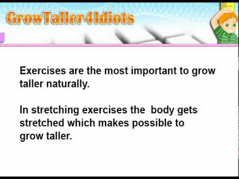 It Is Possible To Grow Taller After puberty