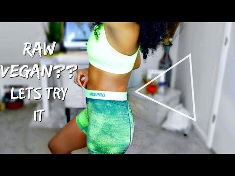 7 DAYS OF EATING RAW VEGAN?!|DETOX CLEANSE!