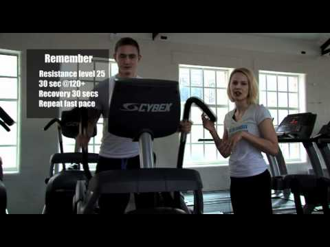 Fat burning in 5 minutes on a Cross Trainer.mov