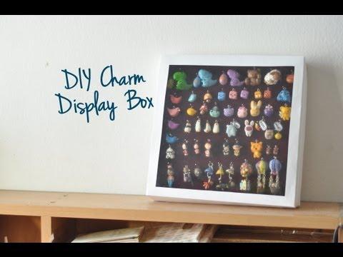 DIY Charm Display Box (Dust-proof)