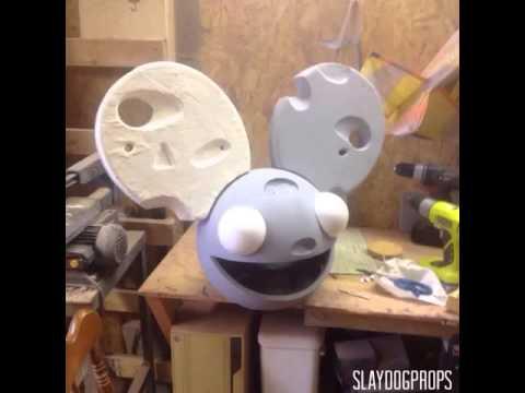 Deadmau5 cheese head build