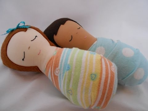 How to Make a Simple Handmade Doll - Cloth Doll Baby