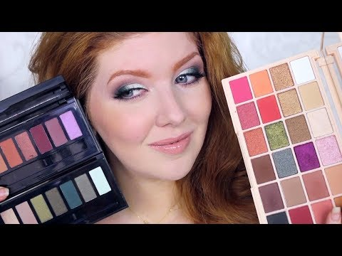 New Makeup at the Drugstore | Eyeshadow Palettes