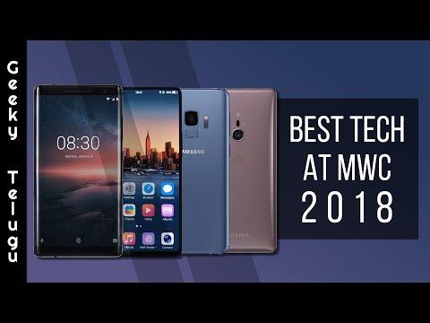 Best Tech At MWC 2018 | MWC 2018 | Telugu | Geeky Telugu