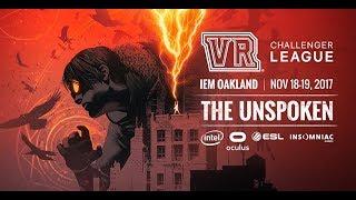 VR Challenger League: The Unspoken