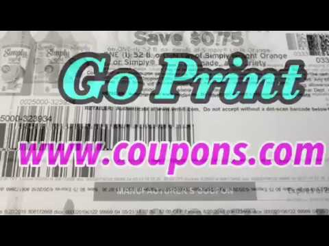 New high value coupons to print from coupons.com