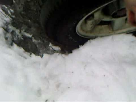 DIY Improving traction in snow.wmv