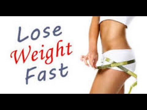 How to lose weight fast and easy at home