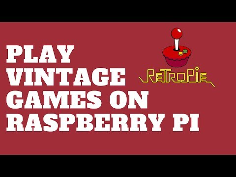Play Vintage Games on Raspberry Pi