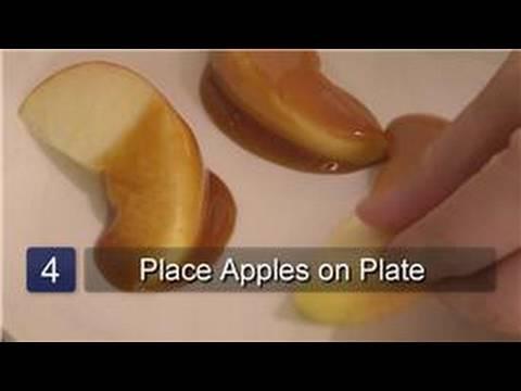 Cooking Basics : How to Make Sliced Caramel Apples