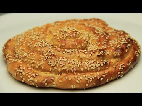 Tahini Sweet Bread Roll Recipe - Sesame Paste Tsoureki