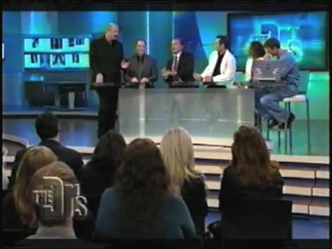 Dr. Ziering explains Men's Genetic Hair Loss on the TV show, The Doctors.