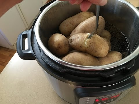 Instant Pot: Quick and Simple Baked Potatoes