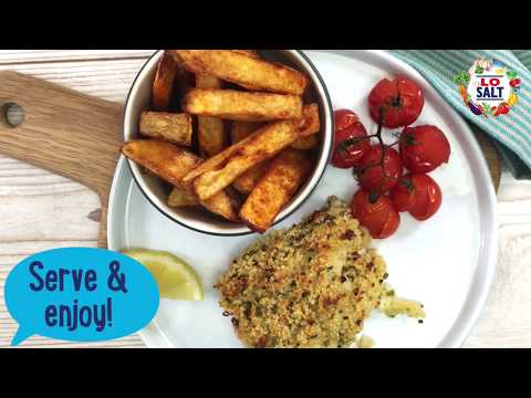 Oven Baked Fish & Chips