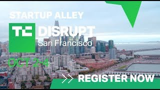 Startup Alley at Disrupt SF 2019