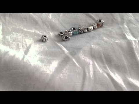 My new Pandora Charms/How to find the right size bracelet :