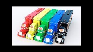 Cars \u0026 Aprender Colores Canciones Infantiles para ninos en espanol
