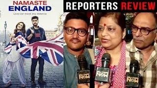 Namaste England Reporters REVIEW - Arjun Kapoor and Parineeti Chopra