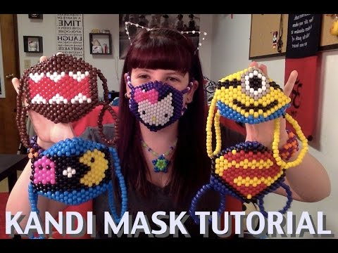 How to make a Kandi Mask (Tutorial)