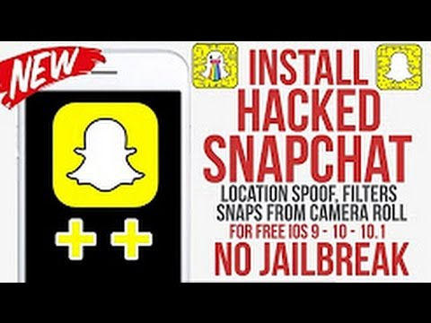 Get Snapchat ++ HACKS 2017 FREE (NEW WORKING!!!) - NO JAILBREAK / NO PC iOS 10/9 iPhone, iPad, iPod
