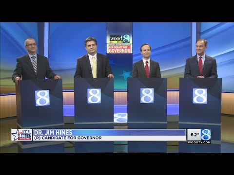 GOP gubernatorial candidates debate at WOOD