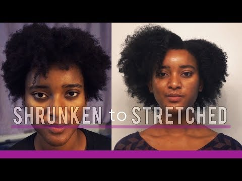 How I Stretch My Natural Hair After Wash Day - Braid Out Routine  | Ahsante the Artist