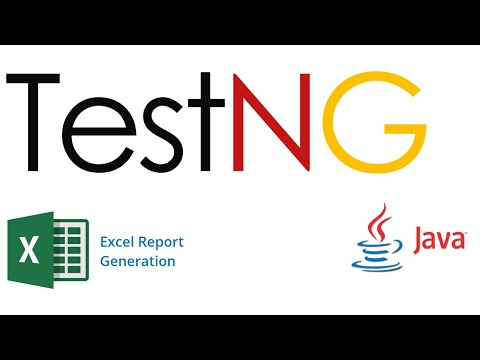 Generating the Excel report from testng result xml