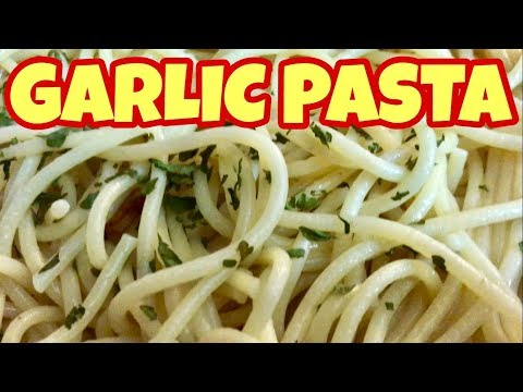 Spaghetti Pasta With Garlic and Olive Oil