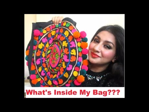 What's Inside My Bag- What's Coming Out of My Bag??? urdu / hindi vlog