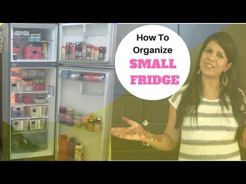 How To Organize a Fridge - Ideas To Organize Small Fridge