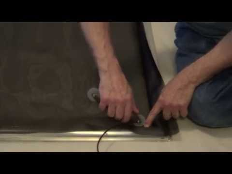 How to Assemble a Sliding Screen Door Kit