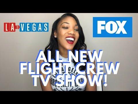 New Flight Attendant TV Show! | LA to Vegas Reaction Video | FOX TV Show