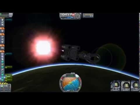 Orbital Rendezvous in Kerbal Space Program