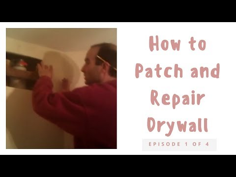 Drywall patch #1
