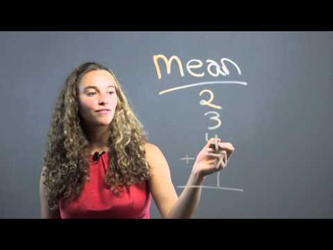 What Does the Average of Something Mean in Math? : Math Concepts