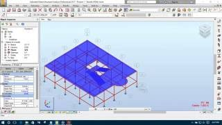 4  Modeling & Applying Loads in Autodesk Robot Structural