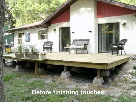 Building Our Backyard Deck