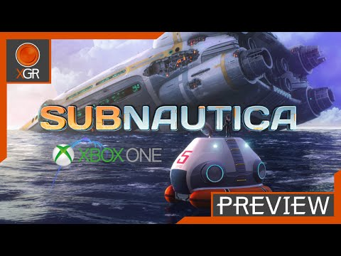 Subnautica - Xbox One - First Look, Creative Mode Gameplay