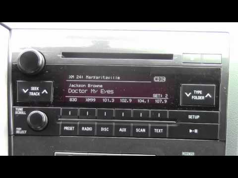 2012 | Toyota | Tundra | XM Radio | How to by Toyota City