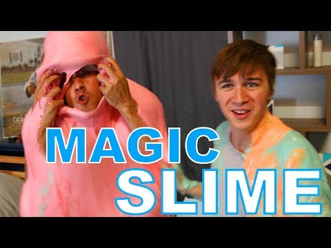 Amazing Magic Tricks with SLIME - 1,000LB SLIME PUDDLE