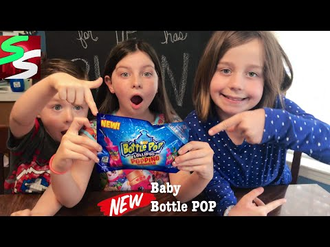 Baby Bottle POP Lollipop With Popping Exploding Powder Review
