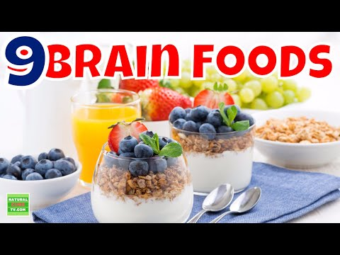 The 9 BEST FOODS FOR YOUR BRAIN - Best Brain Foods for Brain Function, Health, and Memory