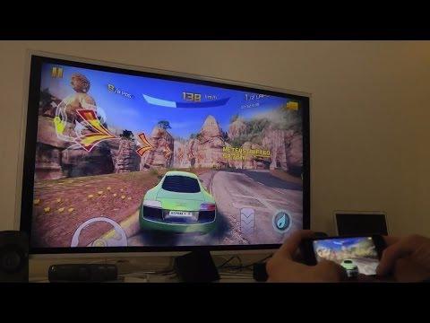 Asphalt 8 iPhone 5S SAMSUNG SMART TV HD Gameplay Test