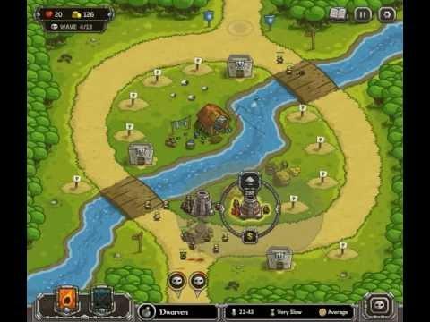 Kingdom Rush - Level 4 (Campaign) - Twin Rivers