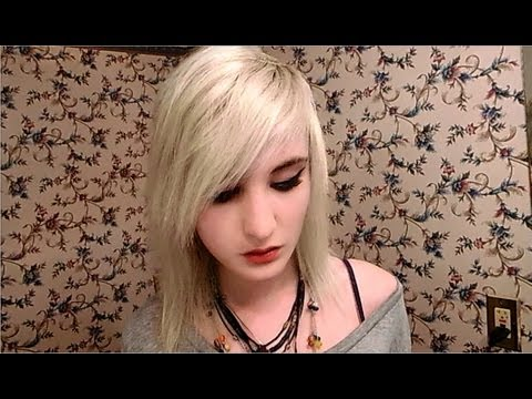 How to cut EMO/SCENE hair/bangs