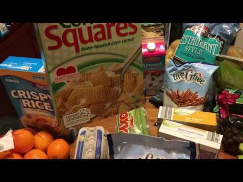 Gluten Free Grocery Shopping $100